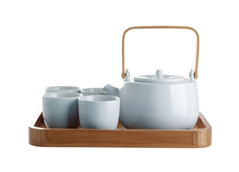 Serenity Seven Piece New Bone China Tea Set