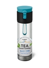 Trio Clear 12 oz. Blue Tea Travel Tumbler
