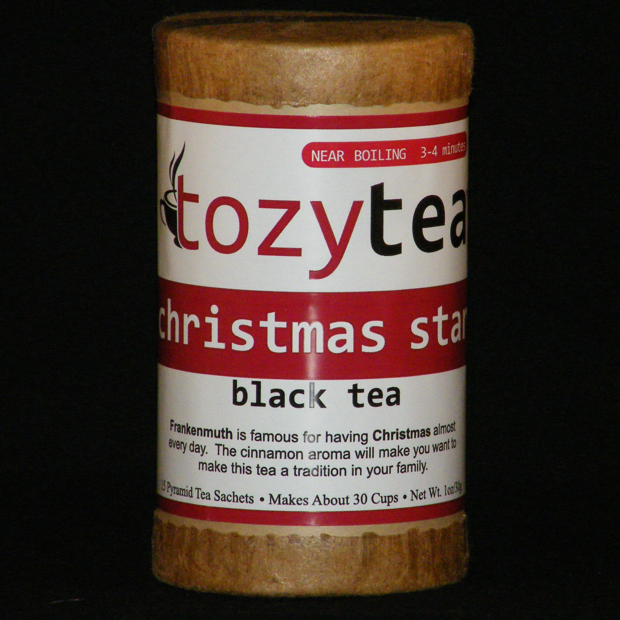 Christmas Star frankenmuth, christmas, star, black, tea, cinnamon