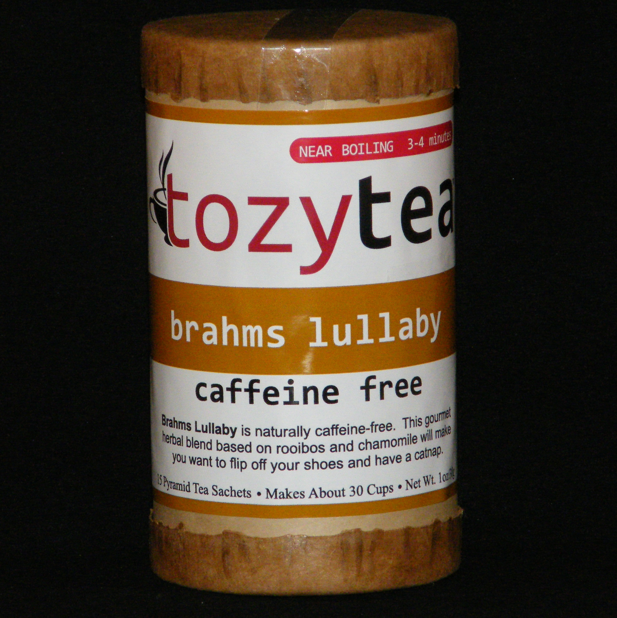 Brahms Lullaby herbal, tea, camomile, rooibos, caffeine, infusion